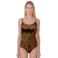 Psychedelic Pattern Camisole Leotard