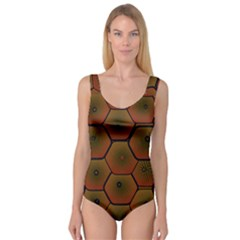 Psychedelic Pattern Princess Tank Leotard