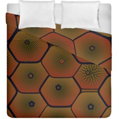 Psychedelic Pattern Duvet Cover Double Side (King Size)