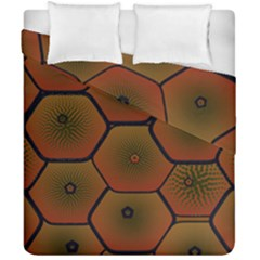 Psychedelic Pattern Duvet Cover Double Side (California King Size)