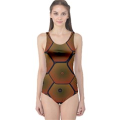 Psychedelic Pattern One Piece Swimsuit