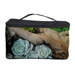 Plant Succulent Plants Flower Wood Cosmetic Storage Case