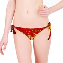 Santa Christmas Claus Winter Bikini Bottom