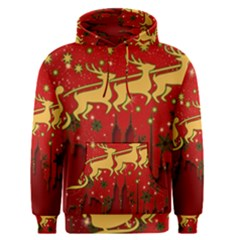 Santa Christmas Claus Winter Men s Pullover Hoodie