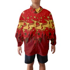 Santa Christmas Claus Winter Wind Breaker (Kids)