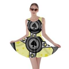 Steering Wheel Skater Dress