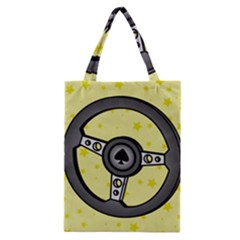 Steering Wheel Classic Tote Bag