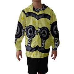 Steering Wheel Hooded Wind Breaker (Kids)