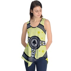 Steering Wheel Sleeveless Tunic