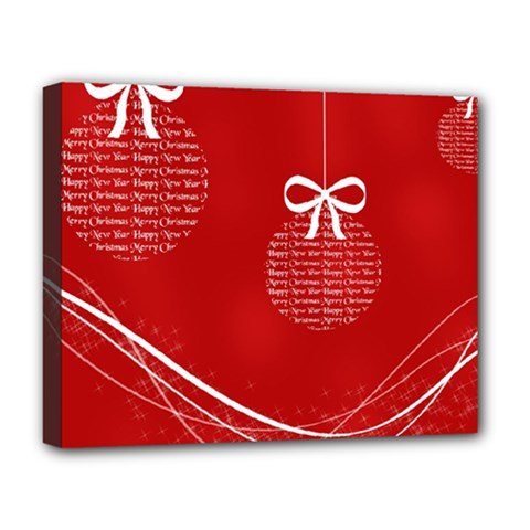 Simple Merry Christmas Deluxe Canvas 20  x 16