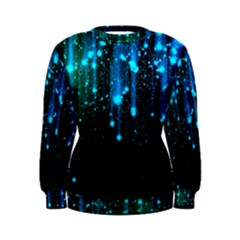 Abstract Stars Falling Wallpapers Hd Women s Sweatshirt