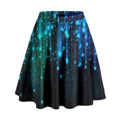 Abstract Stars Falling Wallpapers Hd High Waist Skirt