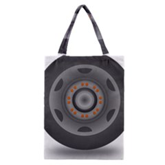 Tire Tyre Car Transport Wheel Classic Tote Bag