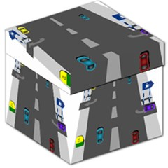 Traffic Road Driving Cars Highway Storage Stool 12