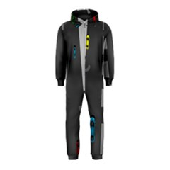 Traffic Road Driving Cars Highway Hooded Jumpsuit (Kids)