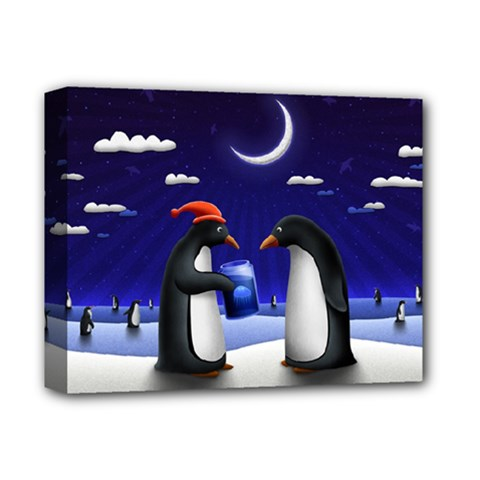 Small Gift For Xmas Christmas Deluxe Canvas 14  x 11
