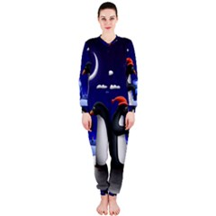 Small Gift For Xmas Christmas OnePiece Jumpsuit (Ladies)