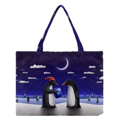 Small Gift For Xmas Christmas Medium Tote Bag