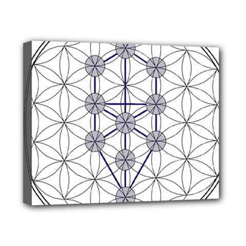 Tree Of Life Flower Of Life Stage Canvas 10  x 8