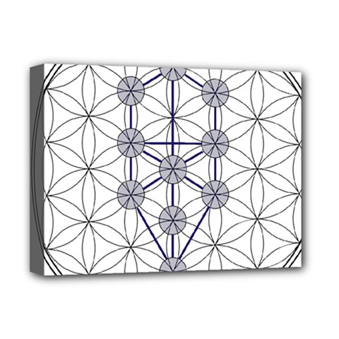 Tree Of Life Flower Of Life Stage Deluxe Canvas 16  x 12