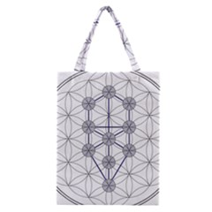 Tree Of Life Flower Of Life Stage Classic Tote Bag