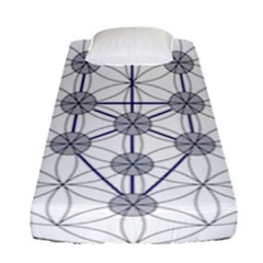 Tree Of Life Flower Of Life Stage Fitted Sheet (Single Size)