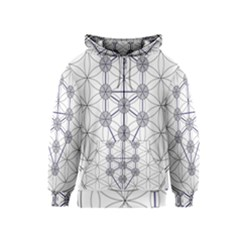 Tree Of Life Flower Of Life Stage Kids  Zipper Hoodie
