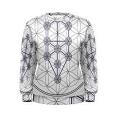 Tree Of Life Flower Of Life Stage Women s Sweatshirt