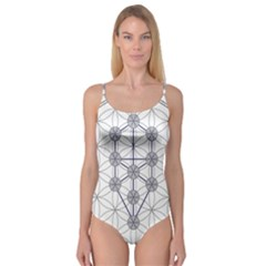 Tree Of Life Flower Of Life Stage Camisole Leotard