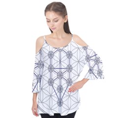 Tree Of Life Flower Of Life Stage Flutter Tees