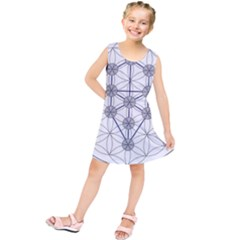 Tree Of Life Flower Of Life Stage Kids  Tunic Dress