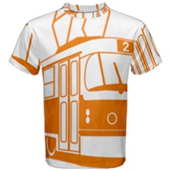 Tramway Transportation Electric Men s Cotton Tee
