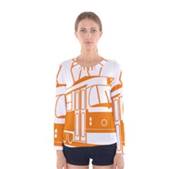 Tramway Transportation Electric Women s Long Sleeve Tee