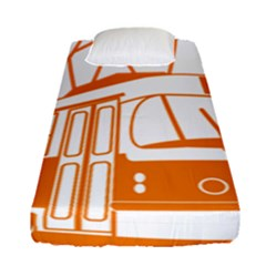 Tramway Transportation Electric Fitted Sheet (Single Size)