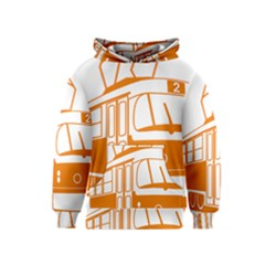 Tramway Transportation Electric Kids  Pullover Hoodie