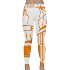 Tramway Transportation Electric Classic Yoga Leggings