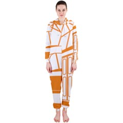 Tramway Transportation Electric Hooded Jumpsuit (Ladies)