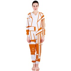 Tramway Transportation Electric OnePiece Jumpsuit (Ladies)
