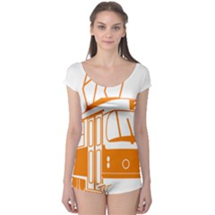 Tramway Transportation Electric Boyleg Leotard