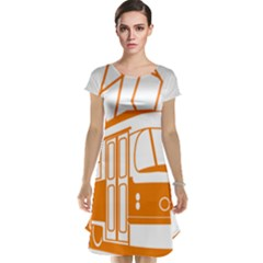 Tramway Transportation Electric Cap Sleeve Nightdress