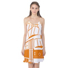 Tramway Transportation Electric Camis Nightgown
