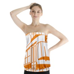 Tramway Transportation Electric Strapless Top