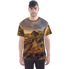 Scotland Landscape Scenic Mountains Men s Sport Mesh Tee