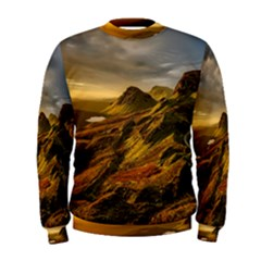 Scotland Landscape Scenic Mountains Men s Sweatshirt