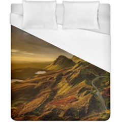 Scotland Landscape Scenic Mountains Duvet Cover (California King Size)