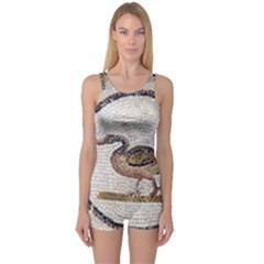 Sousse Mosaic Xenia Patterns One Piece Boyleg Swimsuit