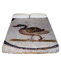 Sousse Mosaic Xenia Patterns Fitted Sheet (Queen Size)
