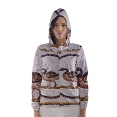 Sousse Mosaic Xenia Patterns Hooded Wind Breaker (Women)