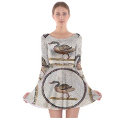 Sousse Mosaic Xenia Patterns Long Sleeve Skater Dress