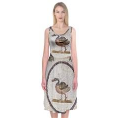 Sousse Mosaic Xenia Patterns Midi Sleeveless Dress